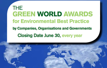 Convocatoria Green World Awards 2018