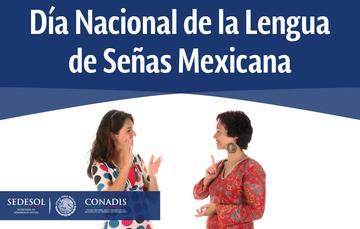 Dos mujeres hablando en lengua de señas mexicana