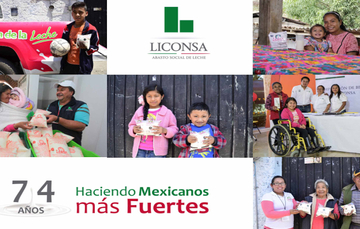 Trabajo de Liconsa, necesario para combatir la pobreza alimentaria en México