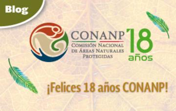#18añosCONANP