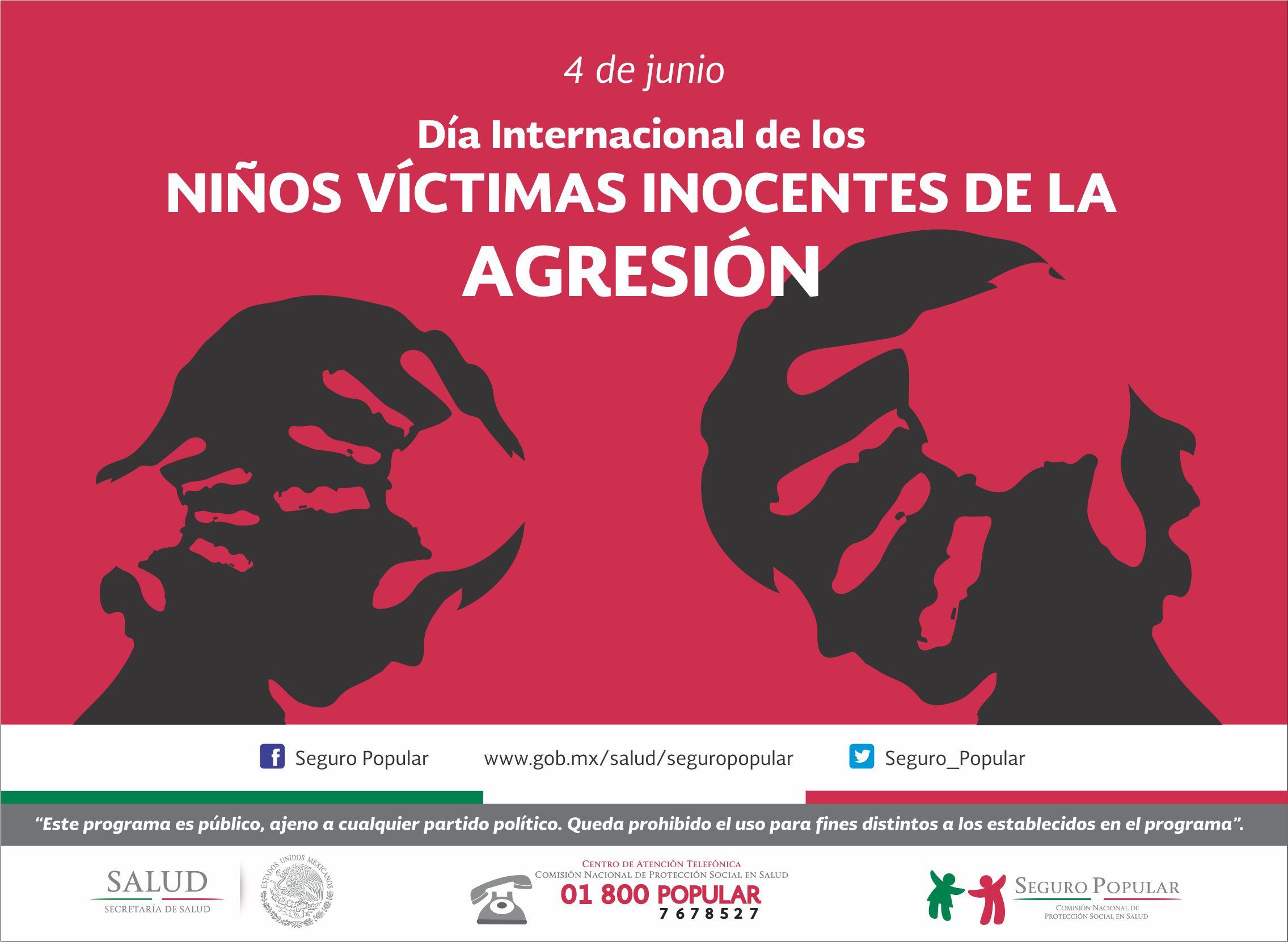 Día Internacional de los Niños Víctimas Inocentes de la Agresión.