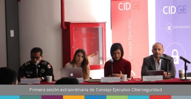Primera sesión extraordinaria de Consejo Ejecutivo de Ciberseguridad.