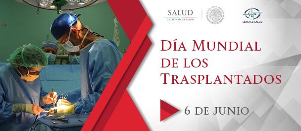 Banner día mundial de los trasplantados