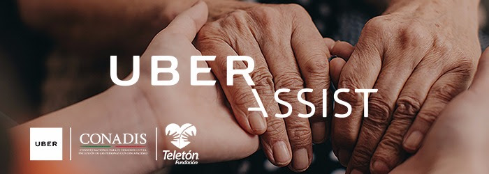 Banner promocional de Uber Assist