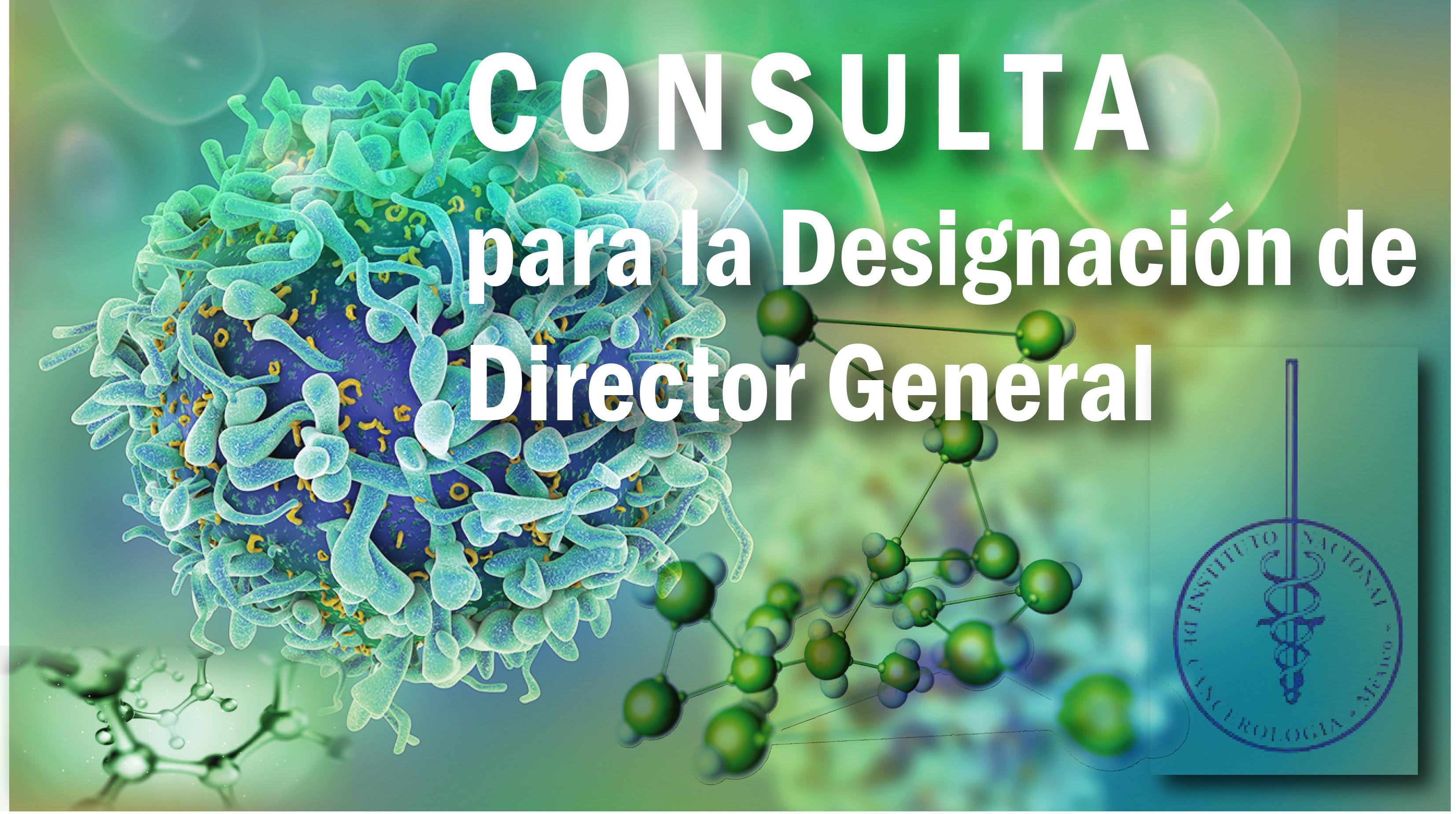 Consulta para la selección del Titular de la Dirección General del Instituto Nacional de Cancerología