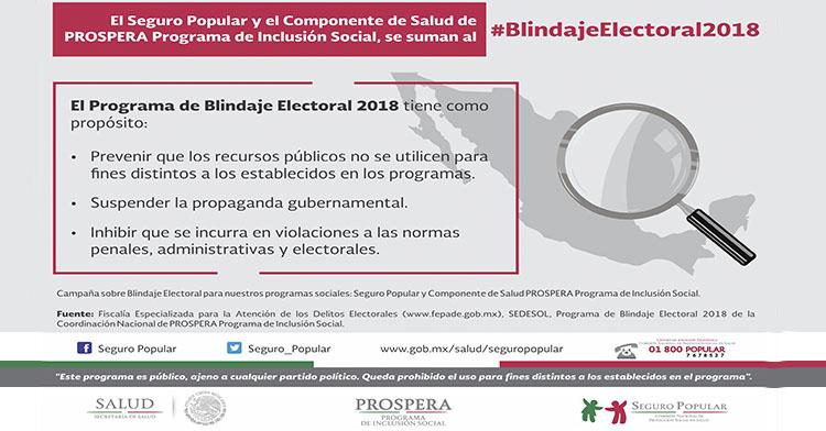 #BlindajeElectoral2018