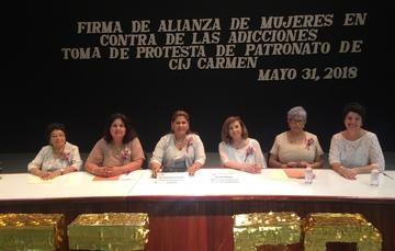 Toma Protesta Patronato de CIJ Cd. del Carmen