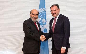 México y la FAO firman Acuerdo de Cooperación para el establecimiento de un Fondo en favor del Caribe