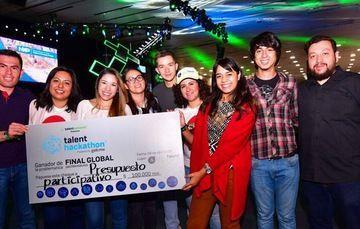 Participantes en el Talent Hackathon