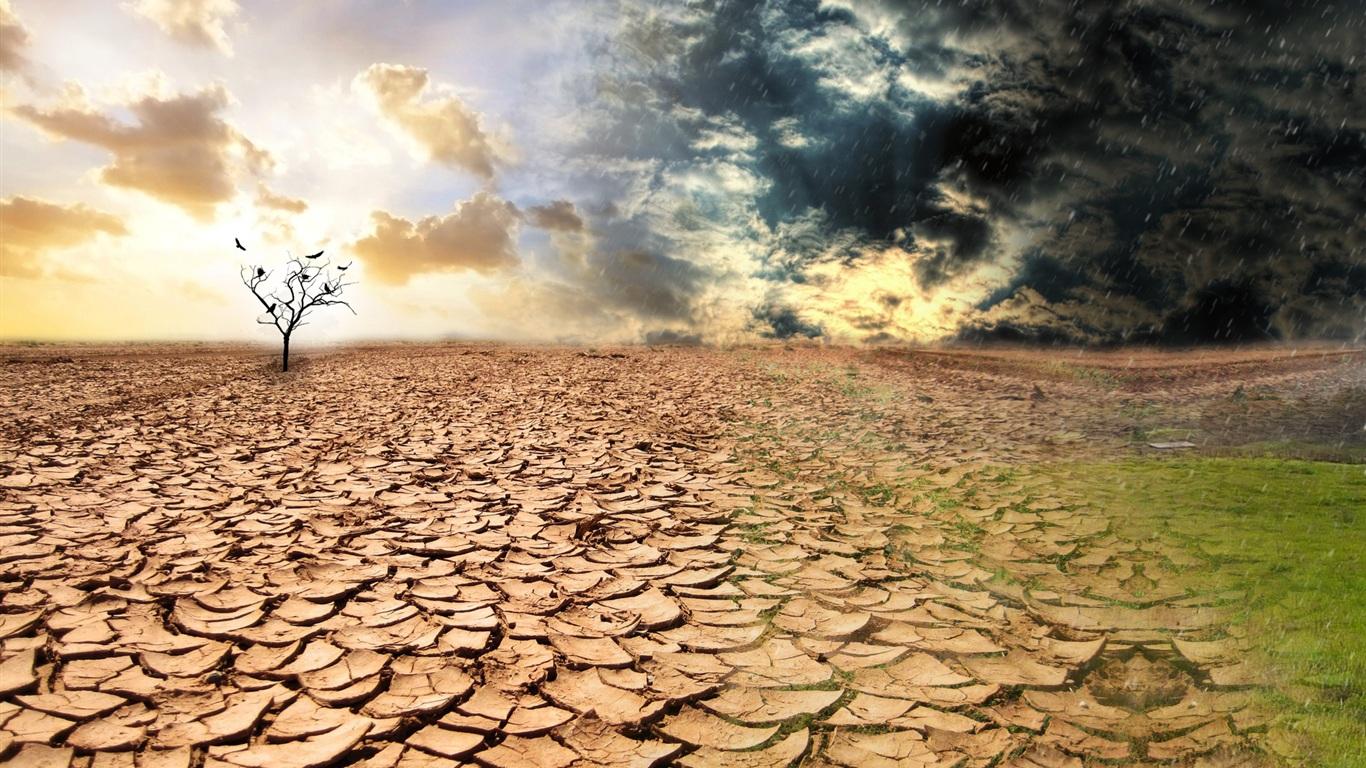 Un negro futuro en desertificación y sequía