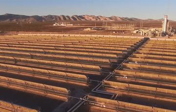 Campo de celdas fotovoltaicas