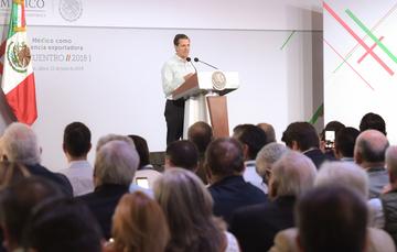"""""""El México de hoy ha logrado avanzar, consolidarse, robustecerse, e irse afirmando como potencia en distintos sectores, y uno de ellos es el agroalimentario"""": EPN"""
