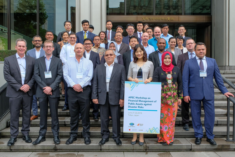Miembros de APEC, en reunión sobre desastres.