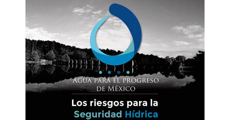 Logotipo del Pre-Congreso: Agua para el Progreso de México.