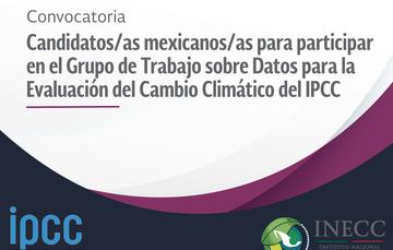 Convocatoria IPCC Datos de Evaluación de Cambio Climático