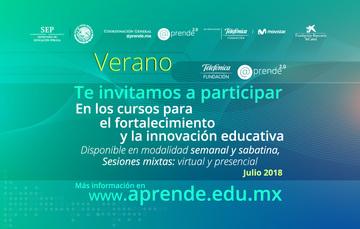 Verano Fundación Telefónica y @prende.mx