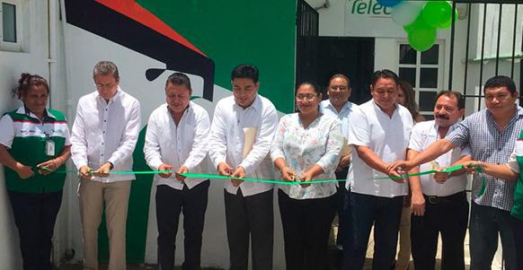 Se inauguró en el estado de Quintana Roo, la Sucursal número 26 en la localidad de Leona Vicario