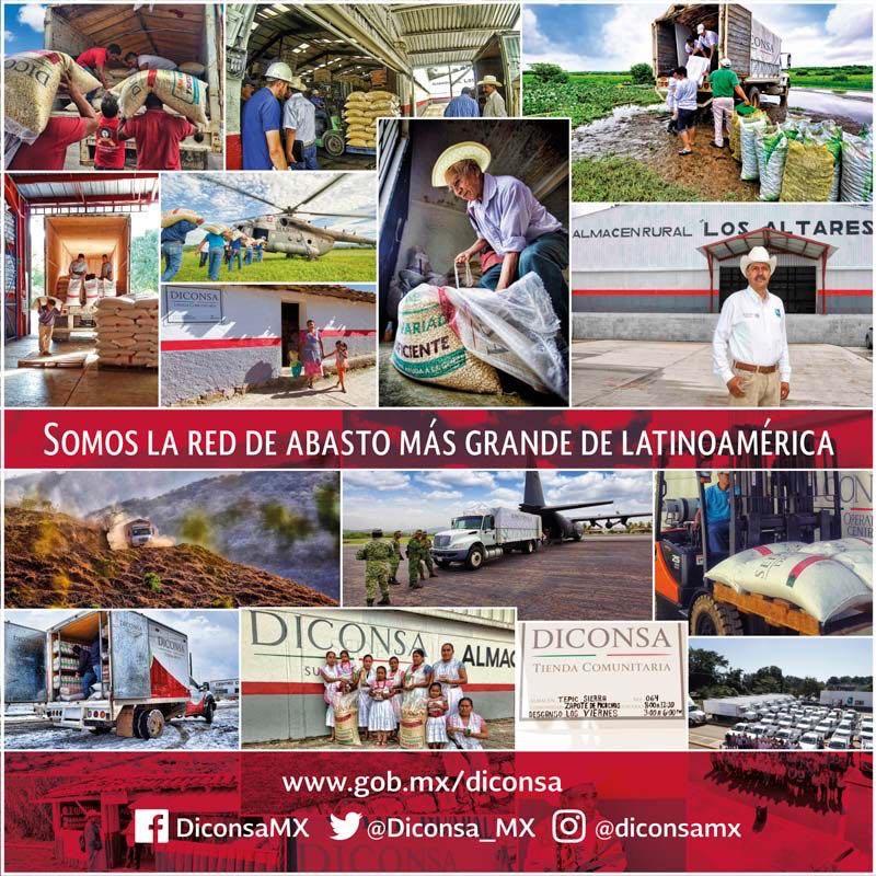 DICONSA, la red de abasto más grande de América Latina