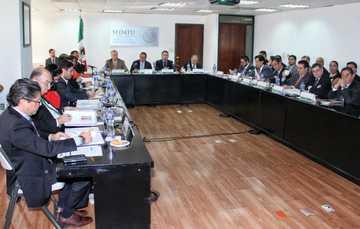 Realización de la Sesión 187 del Comité Técnico y de Distribución de Fondos del FONHAPO.