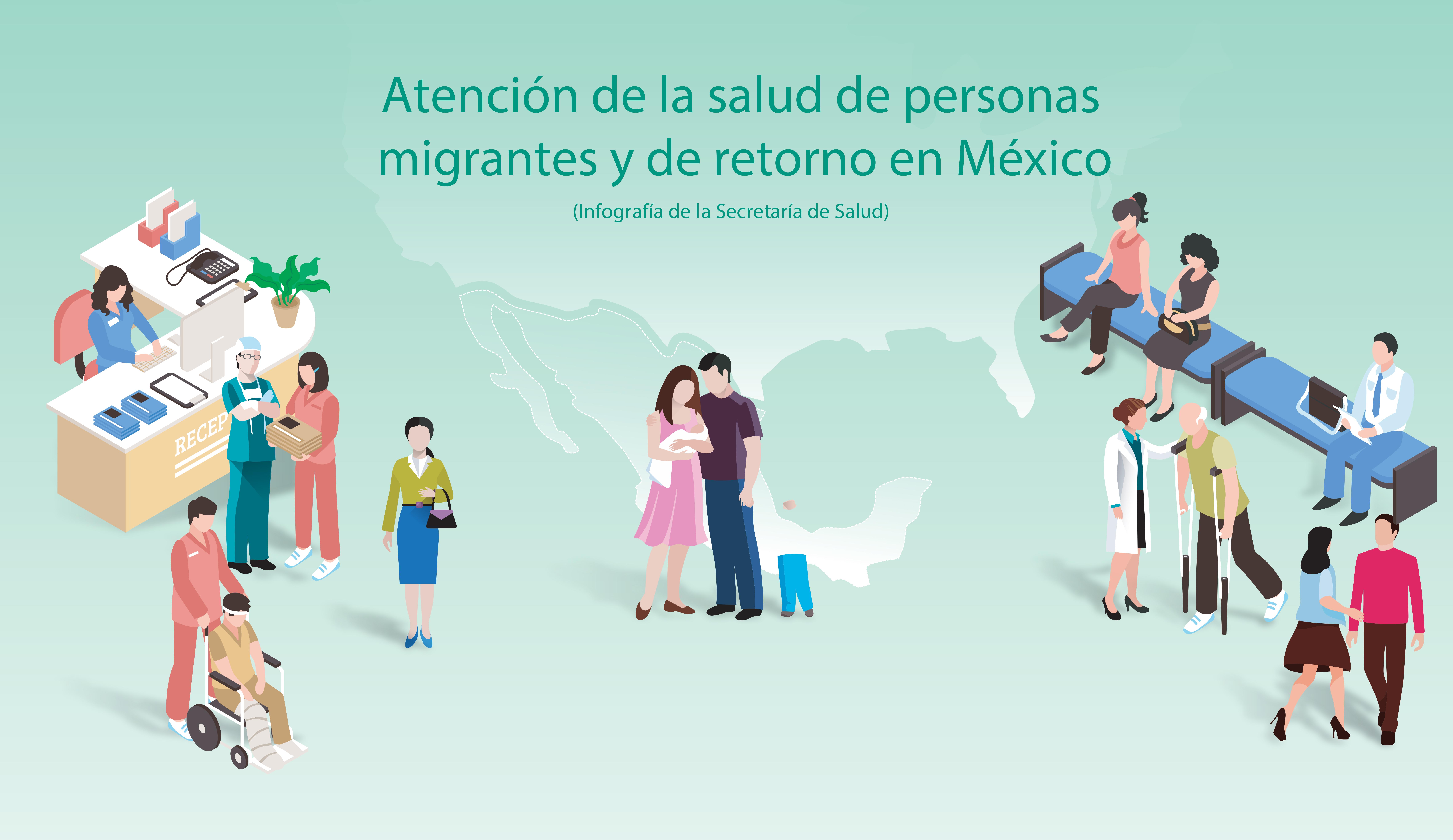 Opciones de repatriación para mexicanos enfermos