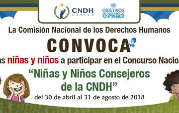 La Comisión Nacional de los Derechos Humanos (CNDH) te invita a participar en el Concurso Nacional