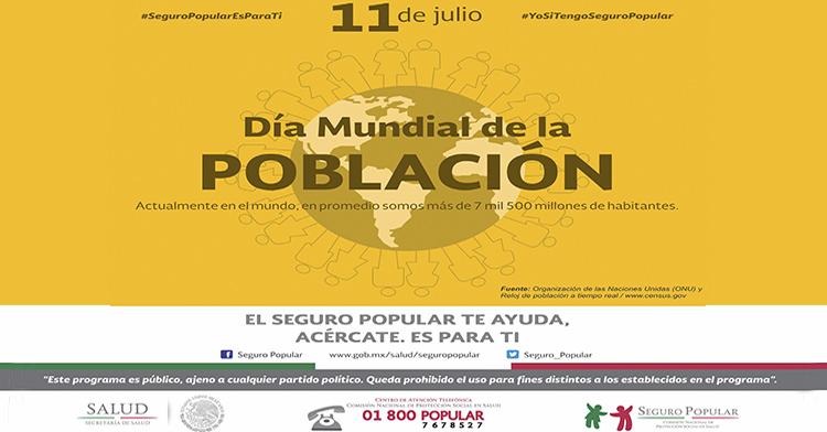 Día Mundial de la Población.