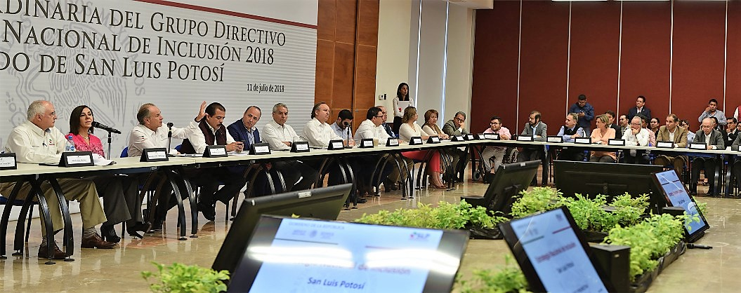 Srio. Eviel en la 2a Sesión Ordinaria del Grupo Directivo Nacional de Inclusión