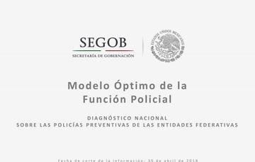 Actualización del Modelo Óptimo de la Función Policial
