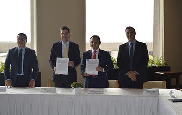 Firma de Convenio CANACERO y ARTF