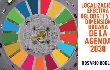Portada de la presentación Localización efectiva del ODS11 y la dimensión urbana de la agenda 2030