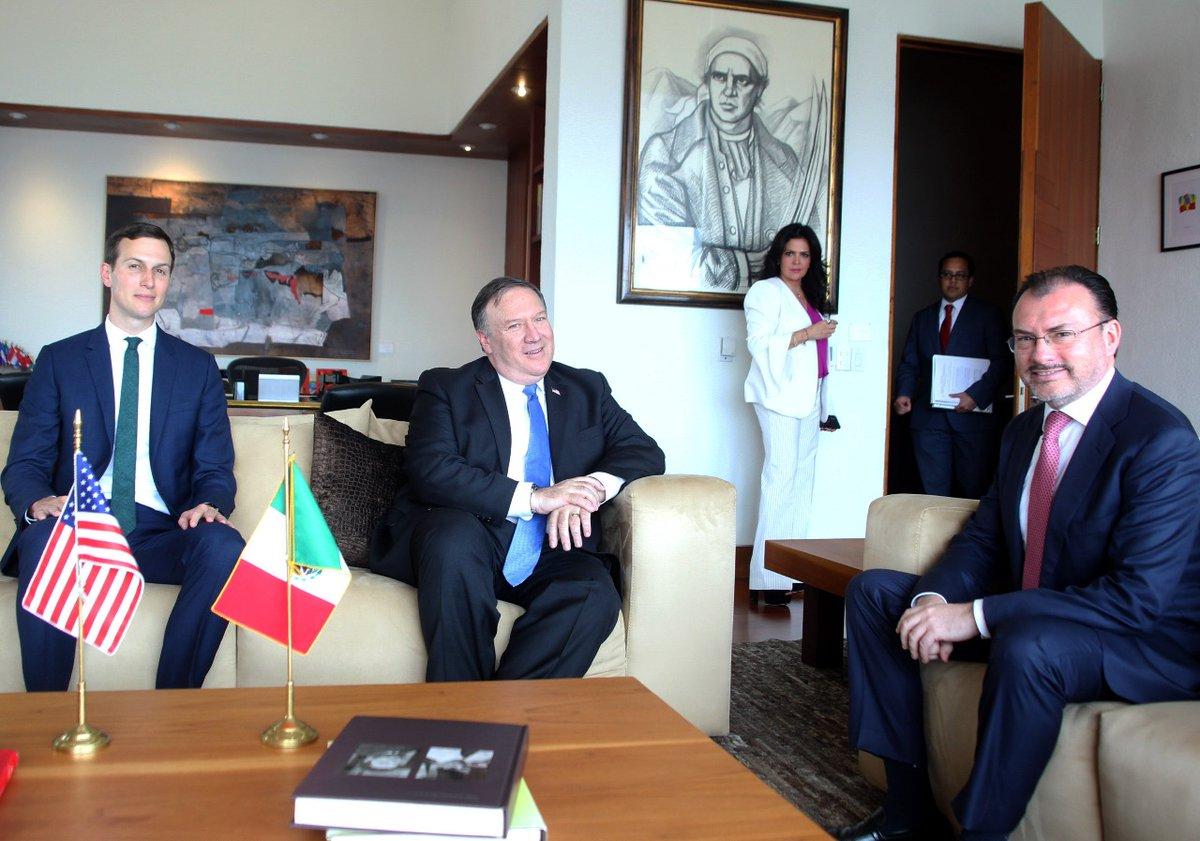 Reunión de trabajo México-EEUU