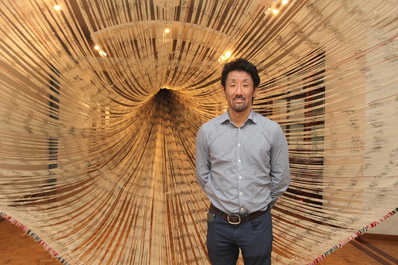 Artista japonés Shinpei Takeda.