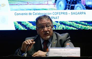 Enrique Sánchez Cruz, director en jefe de SENASICA