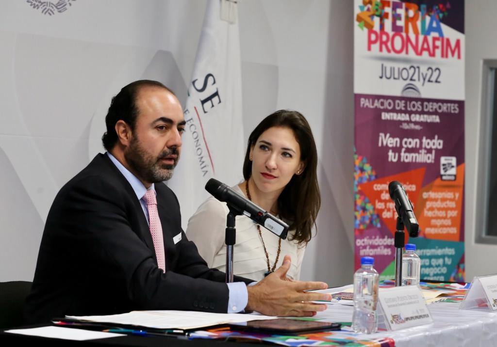 Conferencia de prensa 2ª Feria PRONAFIM