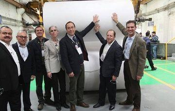Arranque de la producción de papel segurdidad para boletas electorales
