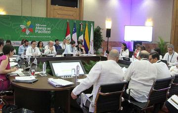 Inician las actividades del Consejo de Ministros de la Alianza del Pacífico