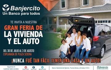 ¡GRAN FERIA DE LA VIVIENDA Y EL AUTO!