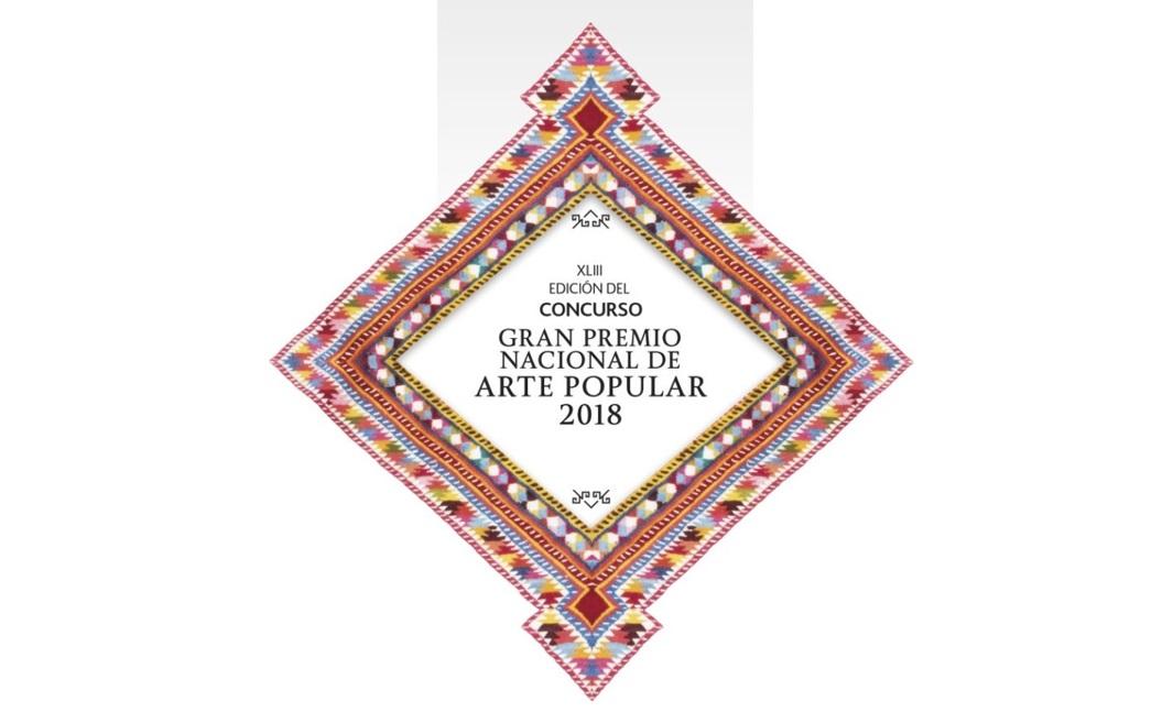 Logotipo del Gran Premio Nacional de Arte Popular 2018