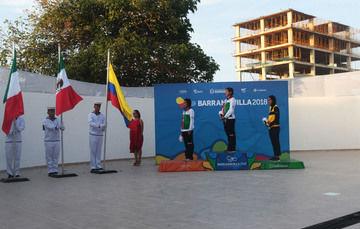 La selección nacional mexicana consiguió seis oros, cuatro platas y tres bronces