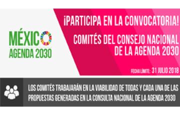 Invitación a la consulta de la Estrategia Nacional de la Agenda 2030