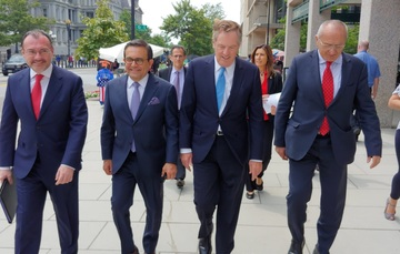 Concluye gira de trabajo de la delegación mexicana en Washington, D.C.
