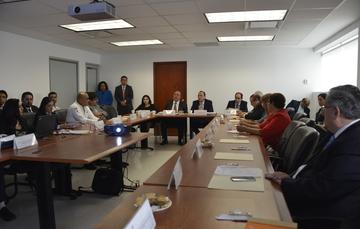 Comité Consultivo Nacional de Normalización de Seguridad y Salud en el Trabajo en sesión