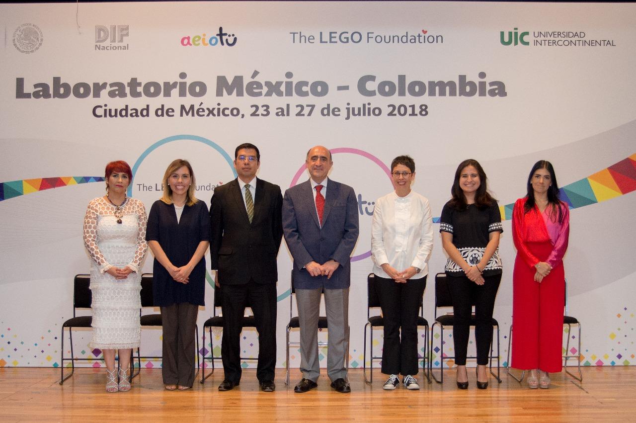 """Clausura del Laboratorio AEIOTÜ """"Tejiendo Comunidades"""", Laboratorio México-Colombia."""