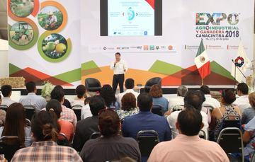 Enrique Martínez en ExpoAgro 2018