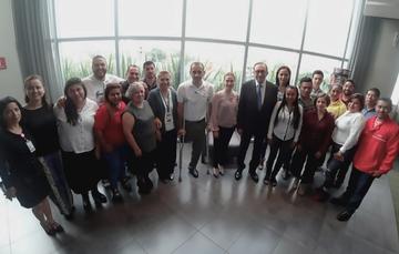 El director del Conafe, Enrique Torres Rivera, inauguró la Reunión Colegiada de Educación Inicial.