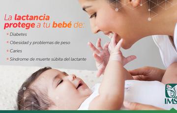 La leche materna es el mejor alimento que conserva una temperatura ideal, es higiénica, no se descompone, ni contamina.