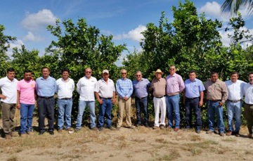 Fortalece FIRA relación con Agroindustrias Citrícolas del norte de Veracruz