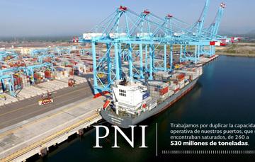 Visión logística, sustentable y de conectividad multimodal en puertos: GRE