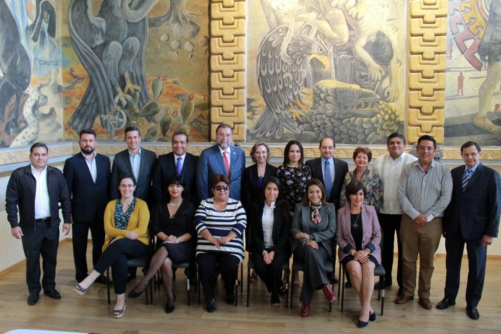 Se reunieron en el Archivo General de la Nación para tratar el tema de  la Ley General de archivos