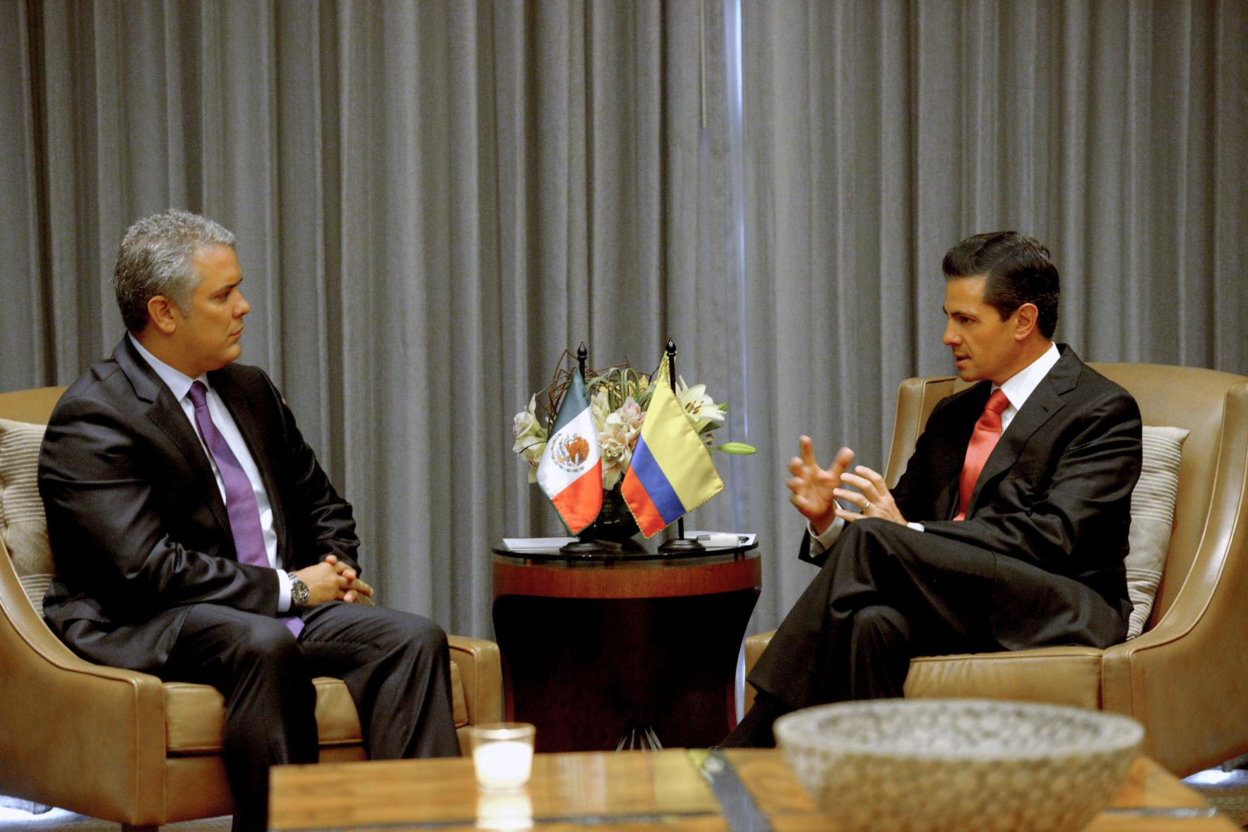 Ambos líderes coincidieron en el valor de mantener una estrecha colaboración en el marco de su participación en la Alianza del Pacífico.